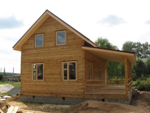Дом 7-8 и пристройка 2-8, 2 этажа , брус 150-150