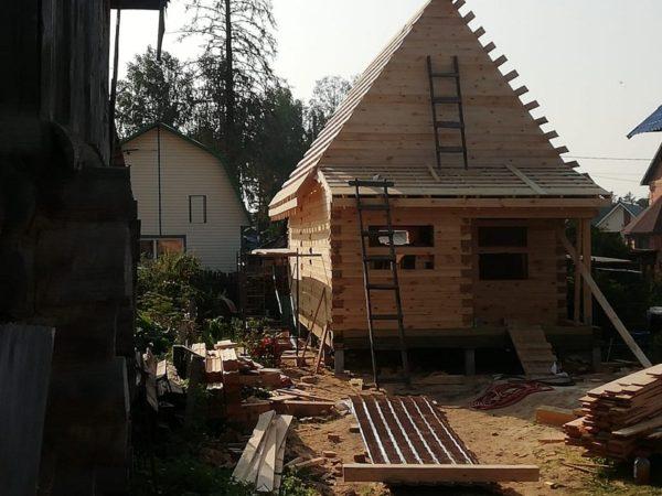Дом 6-9 , пофилированный брус 140-190