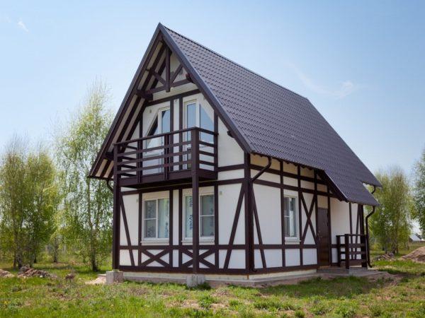 Дом 8-10 каркасный толщина стен 20 см