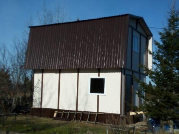 Дом 4-6  кирпичный толщина стен 15 см