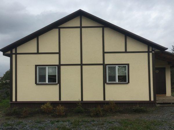 Дом каркасный толщина стен 15 см