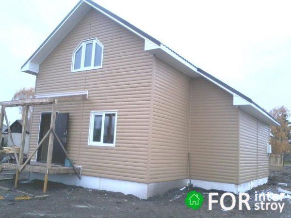 Каркасный дом с мансардой Томск