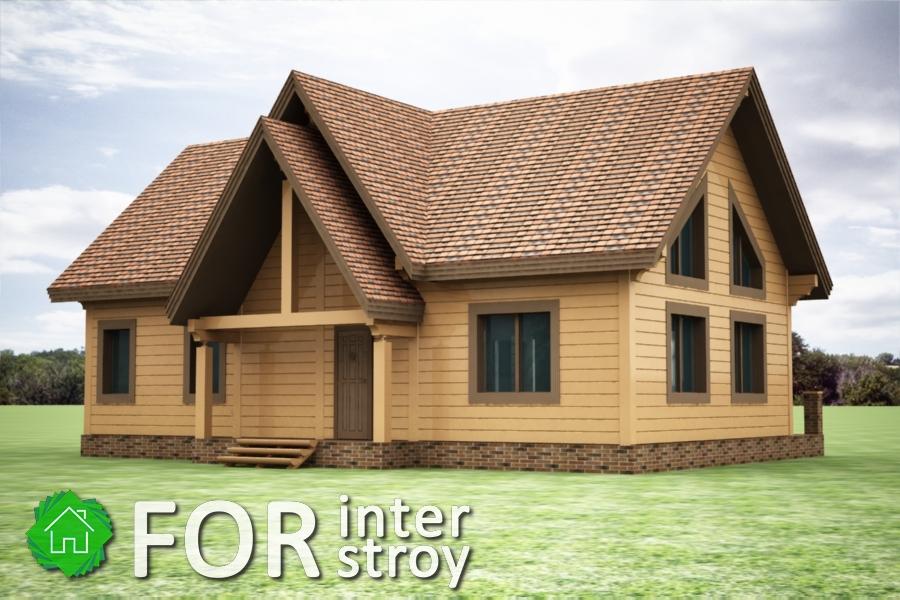 Проект дома в стык №9