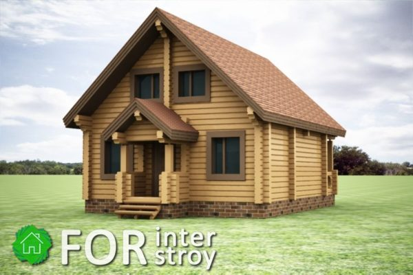 Проект дома в чашу №50