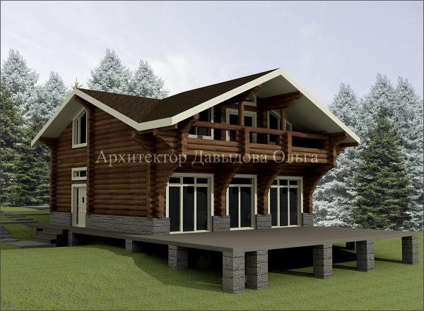 Дизайн проект базы отдыха в Томске