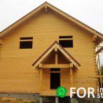 Строительство дома в Моряковке