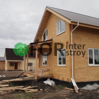 Строительство домов в Томске под ключ цены. Дома из бруса под усадку, доступные цены.