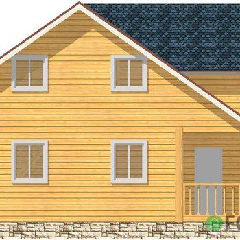 Проект дачного дома 119 м2