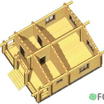 Проект дома 41 м2