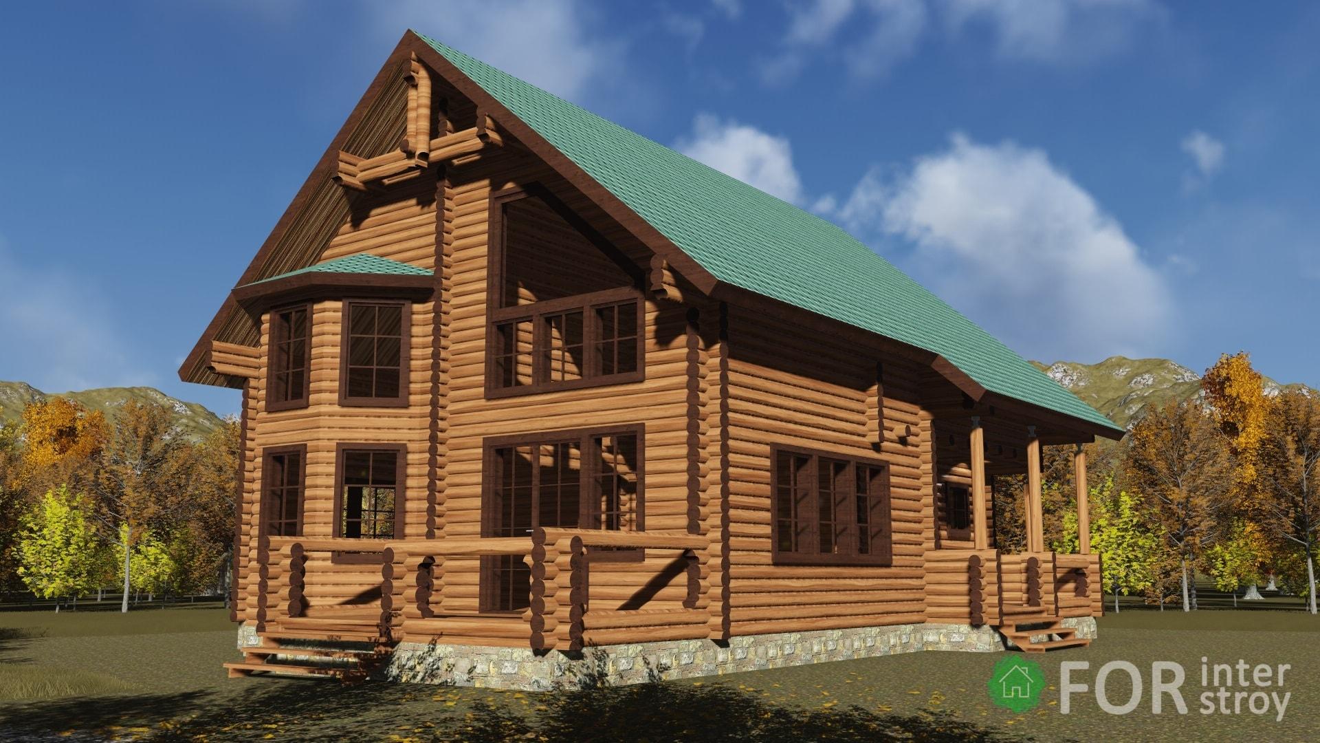 Проект дом 220 м2
