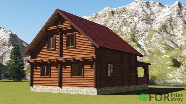 Проект дома 180 м2