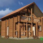 Проект дома в Томске 90 м2